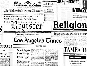 Scientology in the Headlines